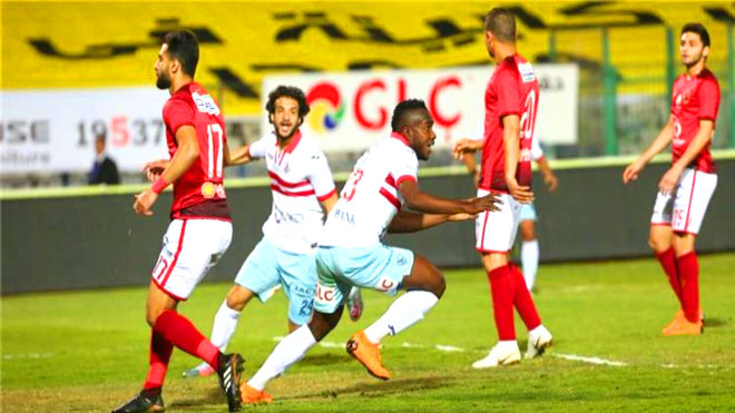 بطولة مصر: الزمالك يفقد نقطتين ويضع الأهلي على مشارف اللقب