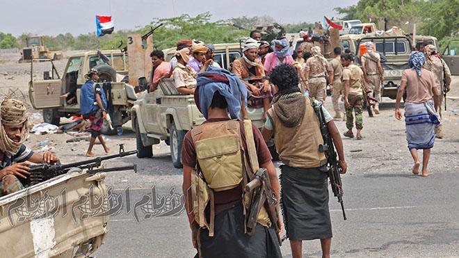 اللواء الثالث دعم وإسناد أول قوة جنوبية تغادر جبهات الشمال وتباشر مهاما عسكرية في عدن وأبين