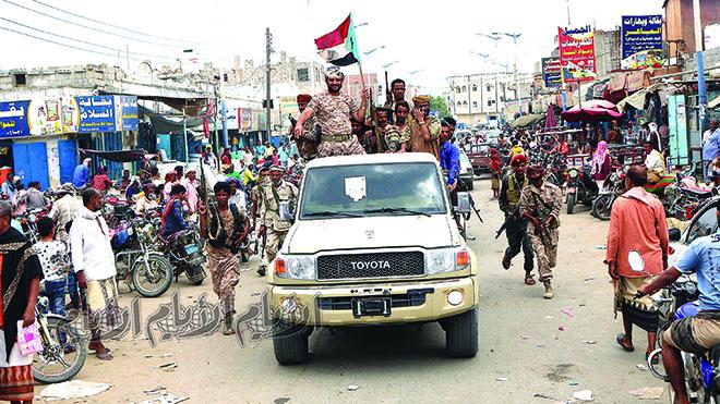 المشوشي: عودة قواتنا إلى عدن لن تكون تعزيزا لطرف جنوبي ضد آخر