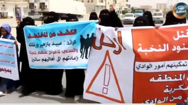 - مطالبات مجتمعية بإخراج قوات علي محسن من الوادي وتمكين النخبة من تولي المهام الأمنية فيه