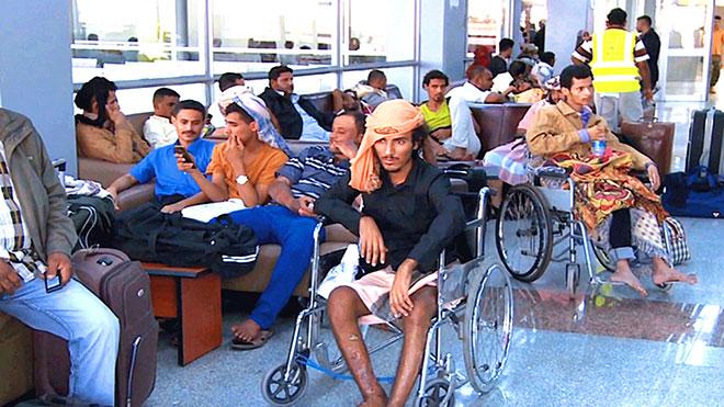 جمعية جرحى عدن تقاضي الميسري وحكومة الشرعية