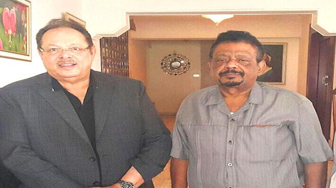 علي ناصر مع أبوبكر توفيق
