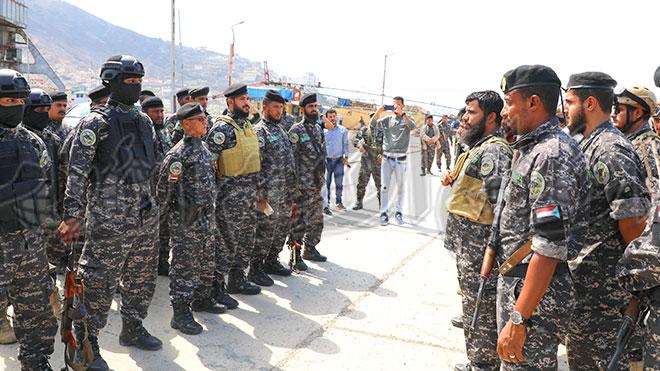 قوات حماية المنشآت تتولى تأمين ميناء عدن