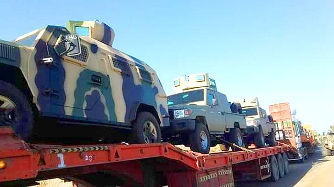 قوات جنوبية تؤمن تعزيزات للتحالف من شبوة إلى عدن