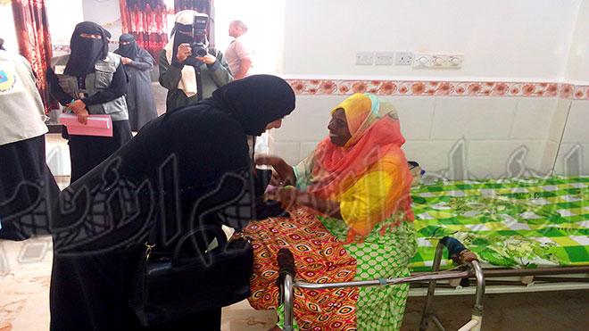 دار المسنين يفتتح جناح النساء بعد إعادة الترميم والتأهيل
