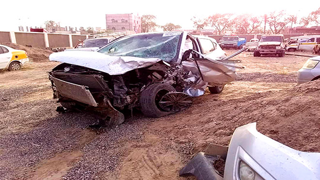 وفاة مدير البحث بشرطة الوهط وإصابة 4 آخرين بحادث مروري