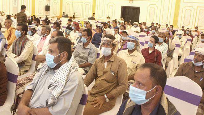 إشهار مجلس الإنقاذ الوطني الجنوبي الموالي للحوثيين في لحج