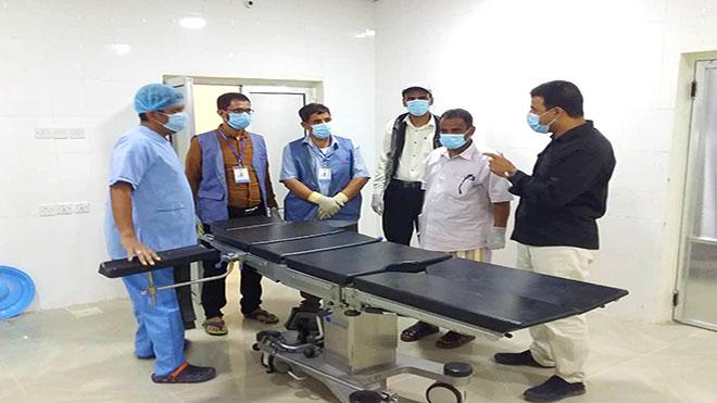 مدير الصحة بالساحل يطلع على مستوى الخدمات بمستشفيات دوعن