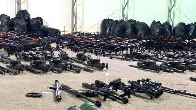 ضبط شحنة أسلحة إيرانية جديدة للحوثيين