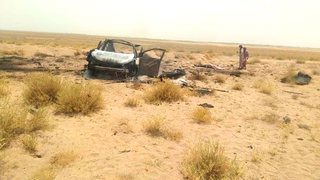 مقتل شخصين بانفجار لغم في بئر أحمد بعدن