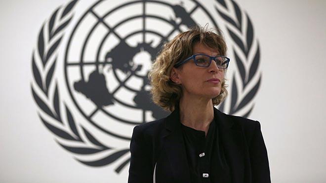 أغنيس كالامارد، المُقرّرة الخاصة المعنية بحالات الإعدام خارج نطاق القضاء أو أو بحالات «الإعدام التعسفي» في المفوضية السامية للأمم المتحدة لحقوق الإنسان