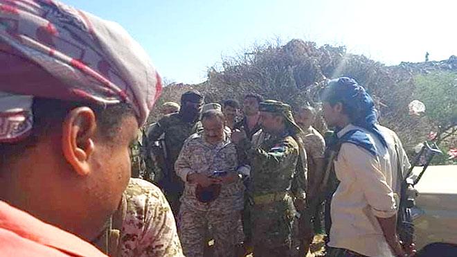 قائد العسكرية الرابعة: لا وجود لحشود من تعز على حدود الجنوب