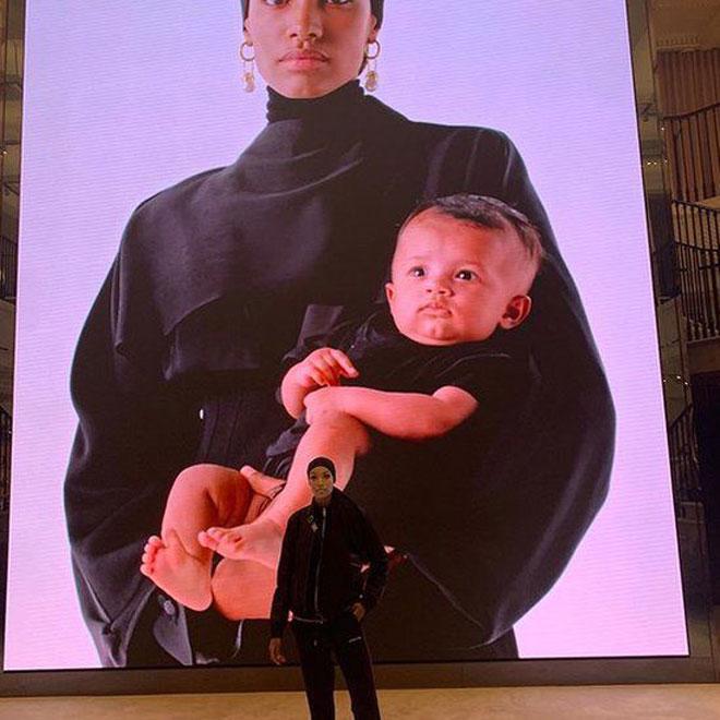 حملة بِربري عن الأمومة عام 2019