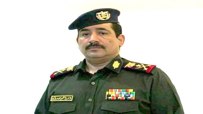 وزير الداخلية في حكومة المناصفة اللواء إبراهيم حيدان