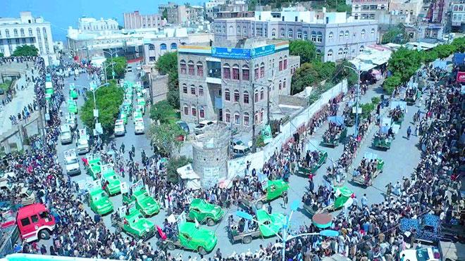 مواكب تشييع عشرات القتلى للحوثيين بصنعاء