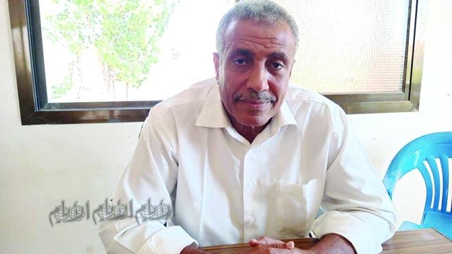 مدير مكتب الزراعة والري بالمحافظة د. حسين الهيثمي