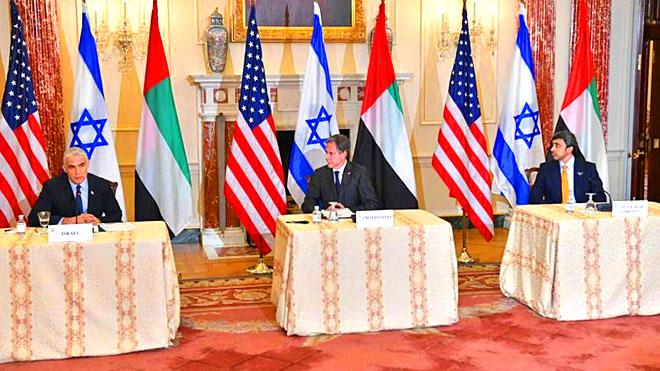 مساعٍ أمريكية وإسرائيلية وإماراتية لخيار السلام بالمنطقة